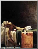Jacques-Louis David, Tod des Marat